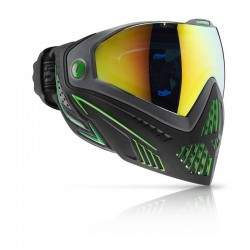 DYE i5 Paintball/Airsoft Anti-Fog Thermal Full Face Goggle Mask Emerald Green