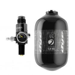 DYE CORE AIR TANK /  HPA BOTTLE 1,1L (300 BAR) + Regulator