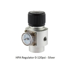 HPA Regulator 0-120psi - Silver