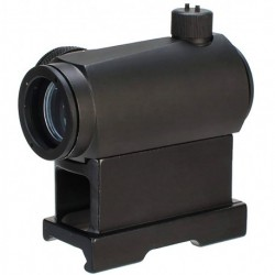 Red dot T1 with QD and lower mount in black color