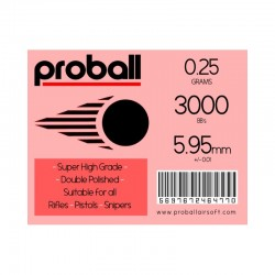 Proball 0.25g  high grade ammo - Non bio