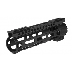 "Lightweight Aluminium CNC Free Floating 7"" hand guard"