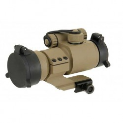 Red dot type Aimpoint M2 oblique mount in Dark Earth color