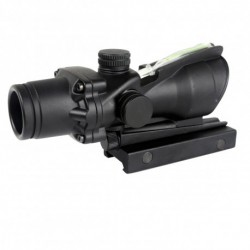 Red dot ACOG type with green optical fiber