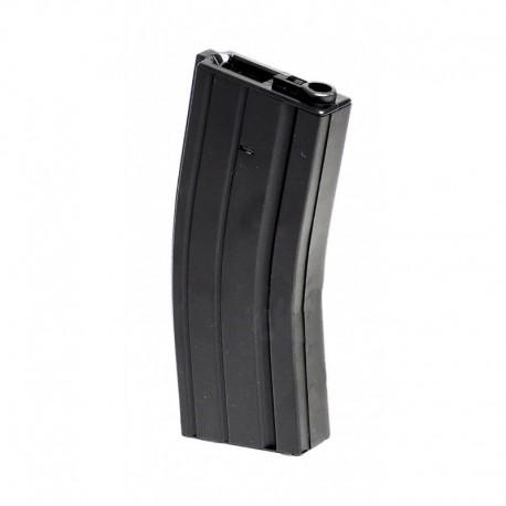 M4/M16 metal magazine Hicap 300 bbs Black with scroll key
