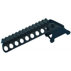 G&P SHOTGUN RECEIVER RAIL FOR MARUI M870 GAS SHOT GUN (SHORT)