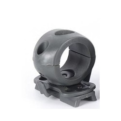 20mm Flashlight Mount for Airsoft Bump Helmet Series - Foliage Green