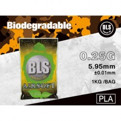 BLS Biodegradable Bbs 0.25gr 1kg