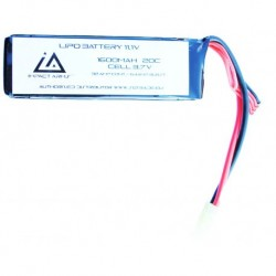 Battery Lipo 11,1V 1600Mah 20C type Mini