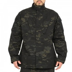Tru-Spec Tactical Response Uniform Shirt - Black